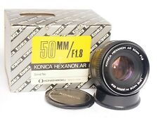 KONICA AR 50mm 1.8 Hexanon - Boxed - ===Mint=== 1.8/50