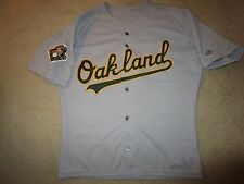 Oakland Athletics 2000 MLB Rawlings A's Game Worn MLB Jersey