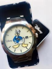 RARE Collectible Disney DONALD DUCK Date Watch Model DD2069 Champage Dial 1 Only