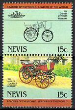 Nevis postfrisch MNH Daimler 2 Zylinder Deutschland Auto Oldtimer historisch /12