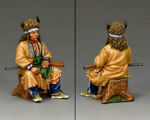 """King & Country Plains Indian """"The Chief"""" TRW070(P) Custer's Last Stand"""