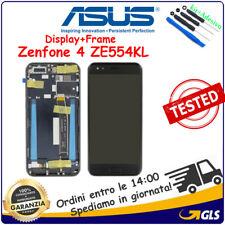TOUCH SCREEN + FRAME LCD DISPLAY ASUS ZENFONE 4 ZE554KL S660 Z01KD Z01KDA NERO