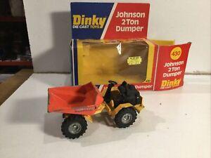 Dinky 430 Johnson 2 Ton Dumper Within Its Original Box