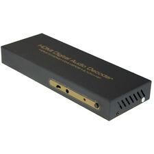 Latest HDMI Audio Extractor Splitter Fiber 2CH/5.1CH HDMI to HDMI/SPDIF/VGA/HP