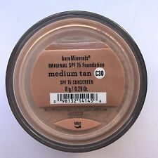 Bare Escentuals Bare Minerals Foundation Medium Tan C30 8g XL ORIGINAL SPF15