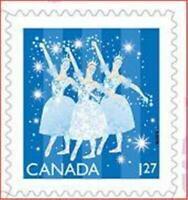 2019 Canada 🍁CHRISTMAS BALLET DANCERS 🥿🥿 MNH Single 🍁 Christmas USA Rate
