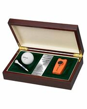 Vertigo by Lotus Tee Time Lighter Golf Gift Set with Ball Tee Lifetime Warranty