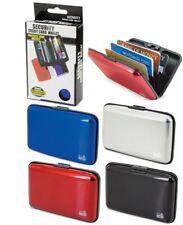 Porte Cartes Etui Anti Piratage RFID Protection pour Cartes à Puce Boitier Alu