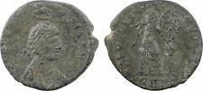 Galla Placidia, nummus, Rome, 450, Victoire - 37