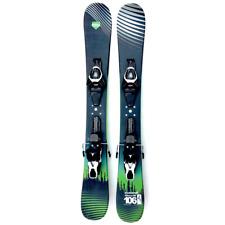 Summit GroovN 106cm Skiboards Snowblades 2020 with Atomic Ski Bindings Mounted