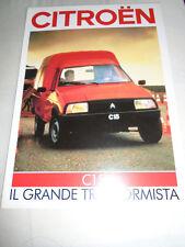Citroen C15 D brochure c1984 Italian text