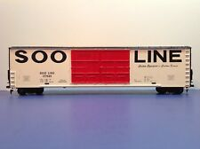 "HO Scale 62' ""SOO Line"" 177581 Double-door High Cube Freight Train Box Car"