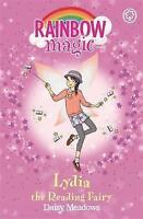 """""""AS NEW"""" Lydia the Reading Fairy: The School Days Fairies Book 3 (Rainbow Magic)"""