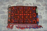 F4 Vintage Handmade Afghan Balisht Stunning Cushion Cover Pillow 1'9 x 2'10 Ft
