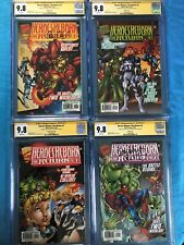Heroes Reborn: The Return #1-4 variant set -Marvel - Cgc Ss 9.8 - All 2x signed