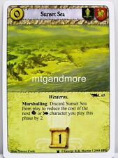 A Game of Thrones LCG - 1x SUNSET SEA #l065 - continente occidentale Draft Pack