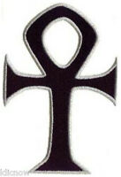 "ANKH EMBROIDERED PATCH 7 X 4CM (2 3/4"" X 2"")"