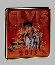 HARD ROCK ONLINE 2013 Series Features Great Offset Print of Elvis. Pin (P.4*)