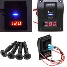 12V bateau voiture SUV batterie LED Dual Test Condition testeur multimètre Switch Panel