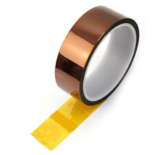 Golden High Temperature Heat Resistant Kapton Tape Polyimide Tool 5mm Wholesale