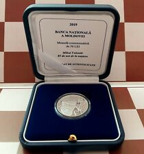 Moldova 2019 Silver Commemorative Coin 50 lei Mihai Volontir #21