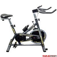 Spinning Exercise Machine Cardio Fitness Gym Bike Trainer 13kg Flywheel Bicycle