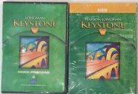 Pearson Longman Keystone Level C Video & Audio Program DVDs & CDs Set