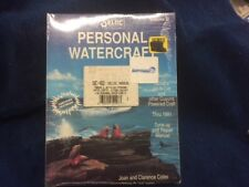 Personal Watercraft Manual Yamaha, Jet-N-Cat and other Cuyuna Powered Craft