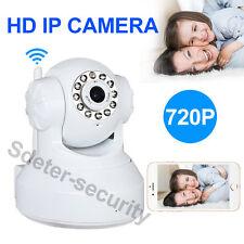 HD 720P 1MP Wireless Webcam IP Cameras Night Vision WIFI Alarm Cam Home Security