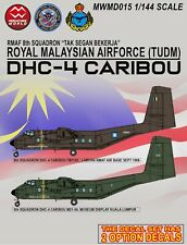 RMAF 1/144 scale DHC-4 Caribou decals (add on)
