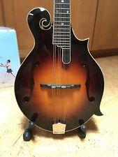 Eastman MDA815 F-Style Acoustic Mandola w/ Case, MD815-SB Solid Woods #31355