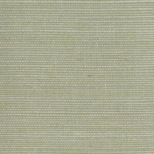 Wallpaper Real Natural Sisal Grasscloth Cream Grass on Spa Green
