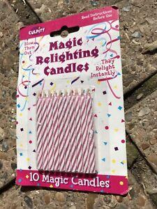 Bnip 10 Pink Magic Relighting Candles
