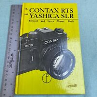 Contax RTS Yashica SLR Bayonet Screw Mount Book Clyde Reynolds 1978 1st Edition