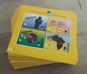 2002 Angola; 200 Blocks Menschenrechte Afrika-Komitee, **/MNH, Bl 101, ME 1200,-