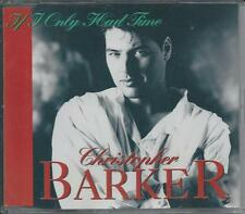 CHRISTOPHER BARKER - If i only had time CD-MAXI 3TR Germany 1993 RARE!