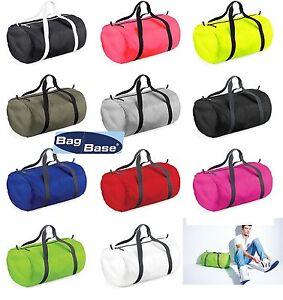 Kleine Reisetasche Barrel Bag Sporttasche Faltbar Schwimmtasche Schulsport