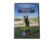 Fundamentals of the Golf Swing with Tom Lehman NEW DVD Game Improvement PGA TOUR
