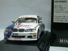WOW EXTREMELY RARE BMW E46 320i Priaulx Monza 2005 Champion WTCC 1:43 Minichamps