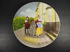 """Vintage CRIES OF LONDON 12½"""" Wall Hanging German Pottery Relief Plate"""