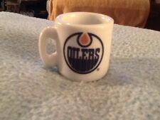NHL EDMONTON OILERS MINI MUG  GREAT CONDITION