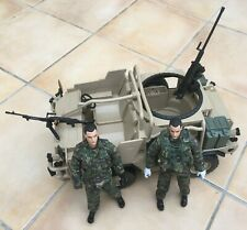 HM Armed Forces British Army Jackal vehicle with 2x figures