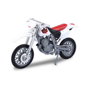 MOTORMAX 76205-429 Honda XR400R Blanc Maßstab 1:18 Modèle de Moto Neuf !°