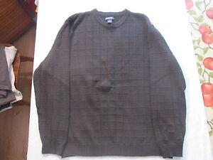 Men's black pullover sweater sz L by Cherokee