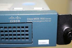 CISCO MCS 7800 SERIES MCS 7825-I3 1U MEDIA CONVERGENCE SERVER, 2 x 146GB HD