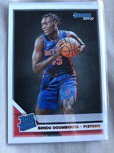 2019-2020 Donruss Rated Rookie RC Detroit Pistons Sekou Doumbouya