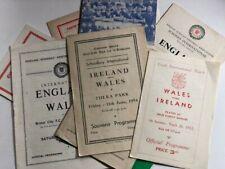 More details for 15 vintage wales minor internationals - some rare (you choose)