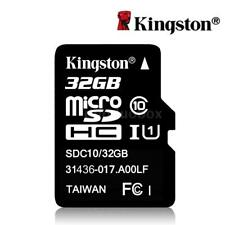 Kingston 32gb 32g Micro SDHC MicroSD Class 10 C10 Uhs-i TF SD Memory Flash Card
