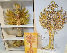 Bob Mackie Goddess Of The Sun Barbie Doll Beading & Sequins Outfit + Shipper S1
