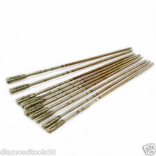 20Pcs 1.8mm Diamond Lapidary Drill Bits Hole Saw  Coated Jewelry Tools for Stone